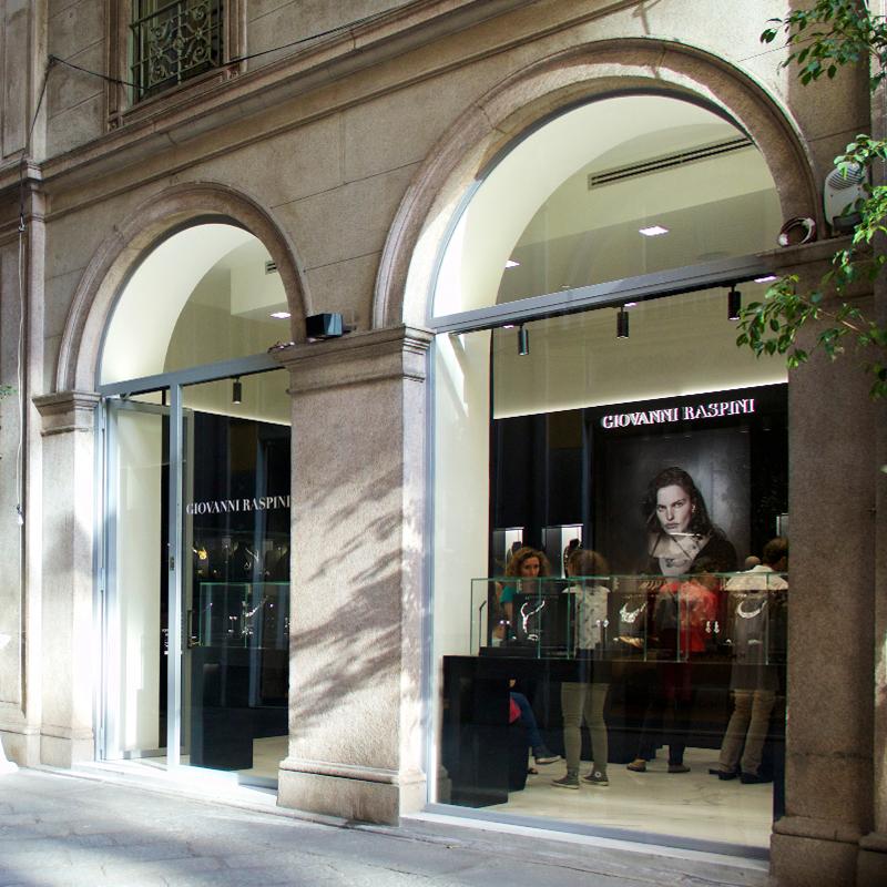 Neueröffnung in der Via della Spiga in Mailand