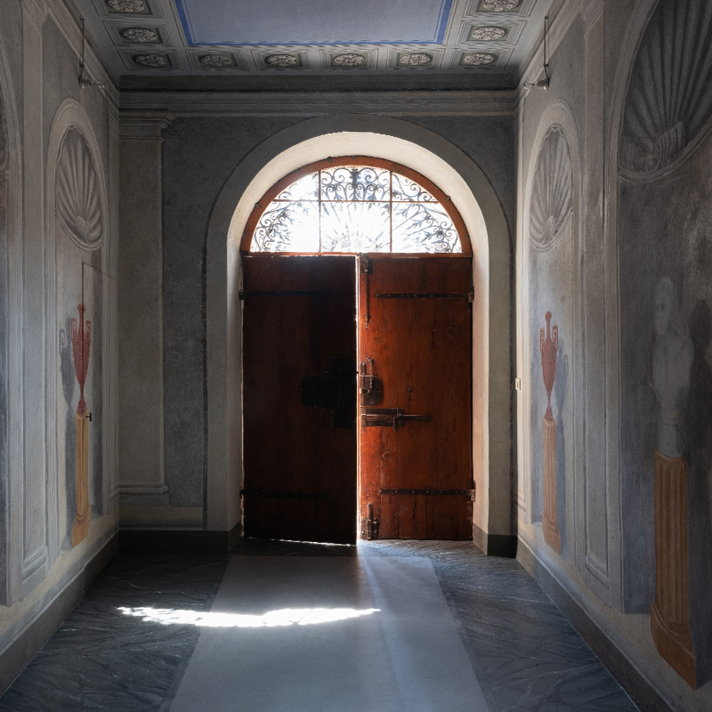 Palazzo dei topi d'argento, der erzählende Raum der Marke