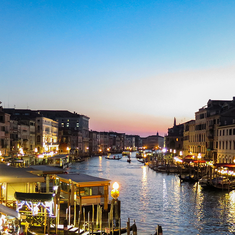 Neue Boutique in Venedig